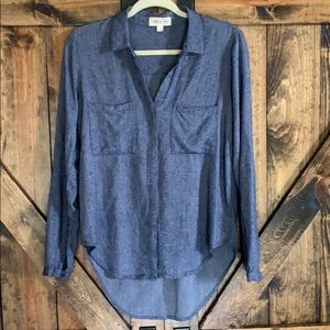 NWOT Anthropologie cloth & stone button down top!